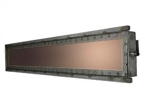 Протяженные планарные магнетроны с прямоугольным катодом
